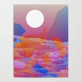 Magic Sunset at D Point Poster