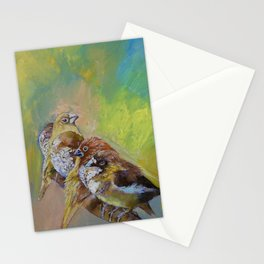 Finches Stationery Cards