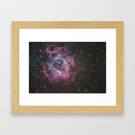 Rosette Nebula Framed Art Print