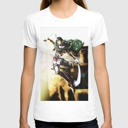 Levi attack of titan T-shirt