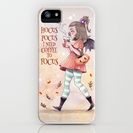 Magic spell Art Print iPhone Case