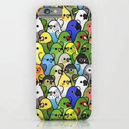 Too Many Birds!™ Bird Squad 1 iPhone Case