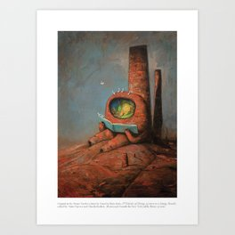 A Velocity of Being: Shaun Tan Art Print