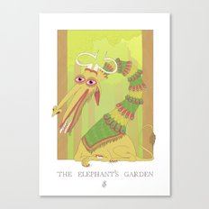 The Elephant's Garden - The Perpetual Glibb Canvas Print
