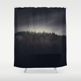 One final mountain to go Shower Curtain