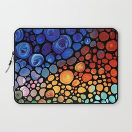 Abstract 1 - Beautiful Colorful Mosaic Art by Sharon Cummings Laptop Sleeve