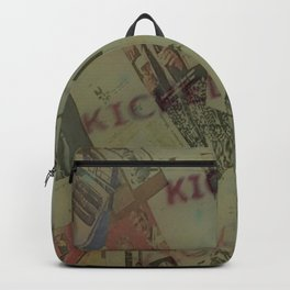 Kicked out Backpack