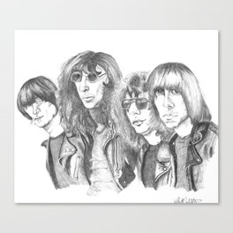 The Ramones Canvas Print