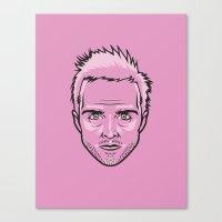 jesse pinkman Canvas Prints featuring Jesse Pinkman by Joshua Ariza