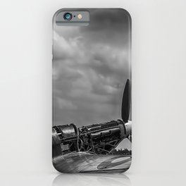 Covers Off 2 Black and White iPhone Case