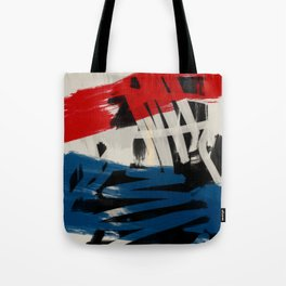French Expressionist Abstract Art Tote Bag