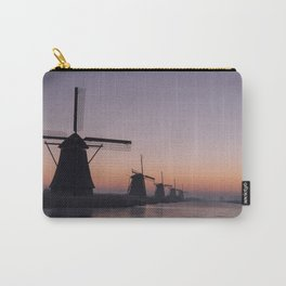 Windmills at Sunrise III Carry-All Pouch