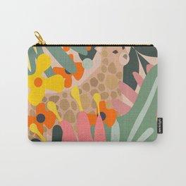 Jungle Cheetah Print Carry-All Pouch