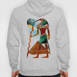Ancient Secrets THOTH 3D Scifi Egyptian Hoody