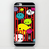 comic iPhone & iPod Skins featuring COMIC  by _Moj_