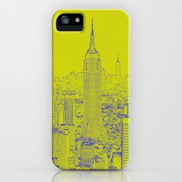 Empire State - Green iPhone Case