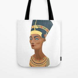 nefertiti bust Tote Bag
