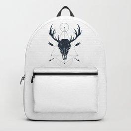 Deer Skull. Geometric Style Backpack