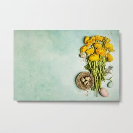 Eastr decortion Metal Print
