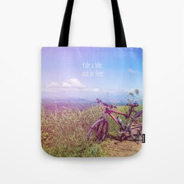 bike = freedom Tote Bag