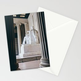 On His Marble Throne Stationery Cards
