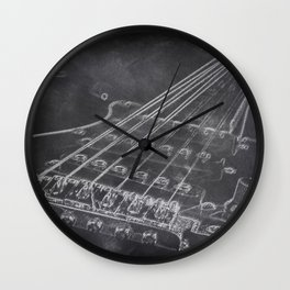 Stratocaster Wall Clock