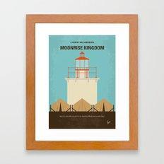 No760 My Moonrise Kingdom minimal movie poster Framed Art Print