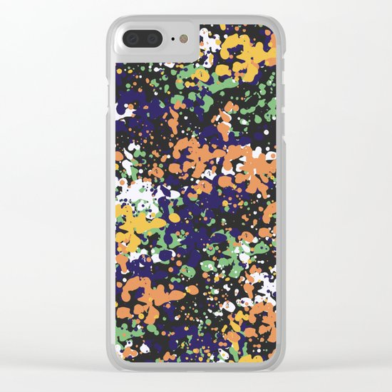 Abstract 36 (V2) Clear iPhone Case