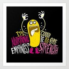 Twinkie. Emptiness. Art Print