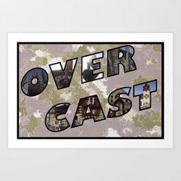 OverCast Postcard Art Print