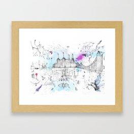 Battersea Power Station Framed Art Print