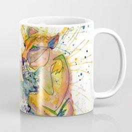 Mommy and Baby Lion Coffee Mug