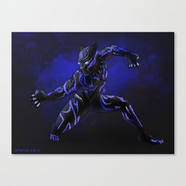 The Black Panther Canvas Print