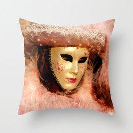 Mask III Throw Pillow