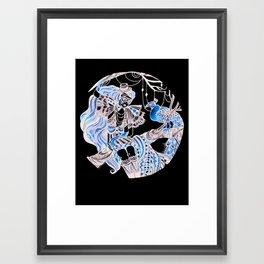 Harlequin Series 6 Framed Art Print