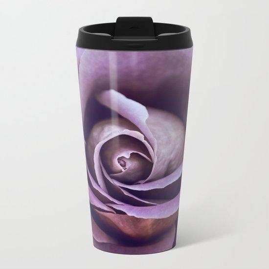 Fibonacci Rose Metal Travel Mug