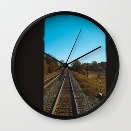 Let's go on a trip Wall Clock