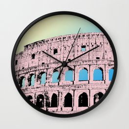 The Colosseum I Wall Clock