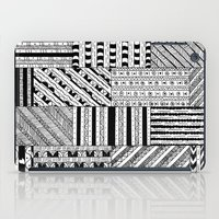 black white iPad Cases featuring Black&White White&Black by Kaitlyn_Michelle_