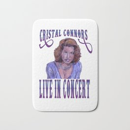 Cristal Connors Bath Mat
