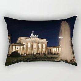 Brandenburg Gate Germany Rectangular Pillow