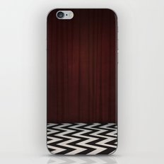 Black Lodge / Red Room Twin Peaks iPhone Skin