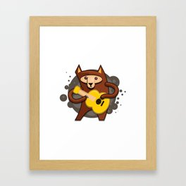 Bear vector Framed Art Print