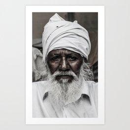 Punjabi Man Art Print