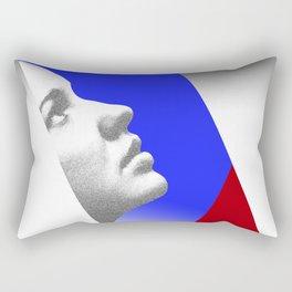 Looking at the sky. Abstract. Rectangular Pillow