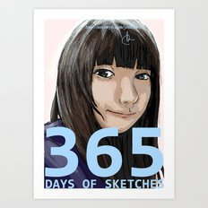 365 Days of Sketches #131 Art Print