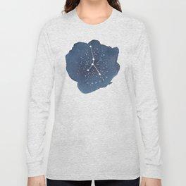 cancer constellation zodiac Long Sleeve T-shirt