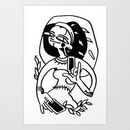 Fortune teller #1 Art Print