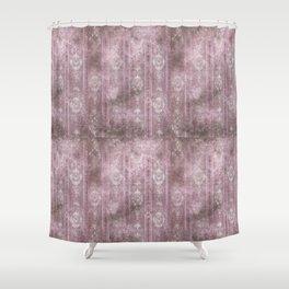 Vintage Rose Grunge Shower Curtain