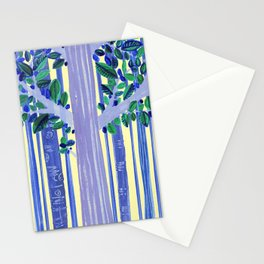 In the wood Stationery Cards